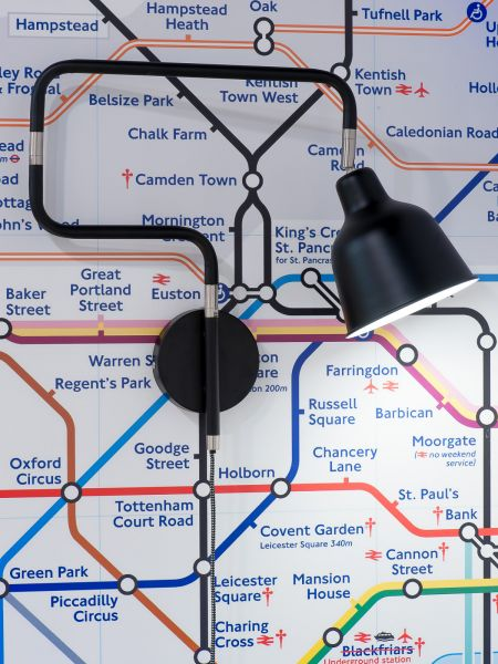 "Wandlampe ""London"" - Citylight Collection by It's about Romi"